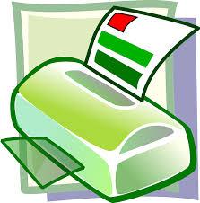disegno stampante